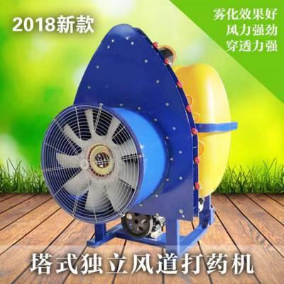 新型农用果园弥雾机 果园风送式打药机 多功能消杀喷雾器500L志成