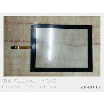 深基达,15寸全平面纯电阻屏,线性1.0,透光性好