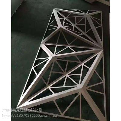广东国际外贸公司LOGO定制背景雕花铝单板