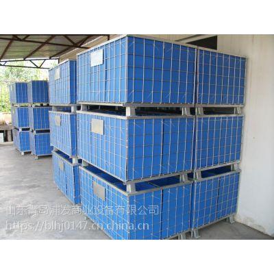 青岛胶州百龙货架直销 仓储笼定制成本低运输便捷常规