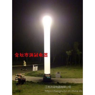 快速自动充气照明灯柱2000W