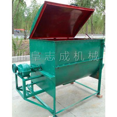 供应羊饲料搅拌机 加厚钢板卧式混料机 家禽饲料混合机规格型号