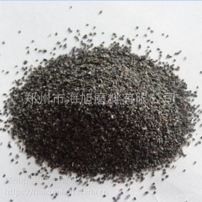 河南棕刚玉生产厂家一级棕刚玉粒度砂微粉硬度高粒型好用于喷砂研磨抛光