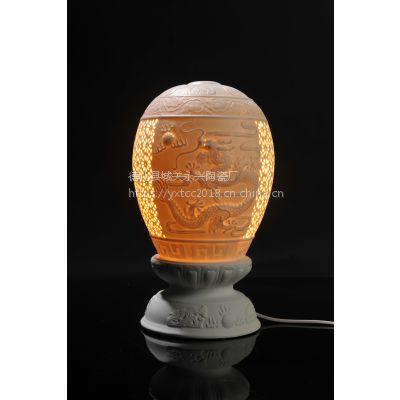 陶瓷台灯 艺术灯 工艺灯 灯饰