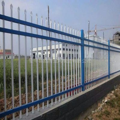 厂区定做围墙护栏学校防攀爬铁艺围栏工厂围墙铁栅栏自产自销价格低