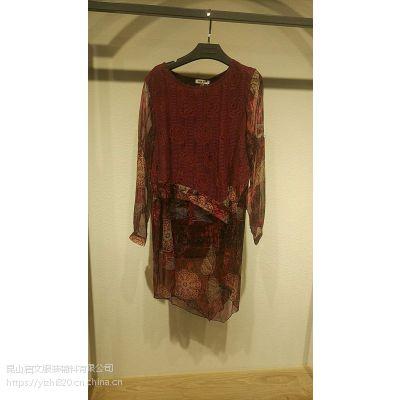 依然红火现货多种风格多种款式多福服装批发市场品牌折扣女装毛衣尾货走份批发品牌折扣店怎么样