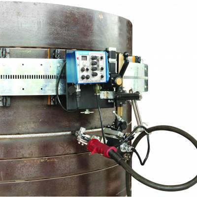 上海华威 HK-100SE 摆动式罐体焊接小车 管道自动焊接小车 带柔性轨道 西安森达