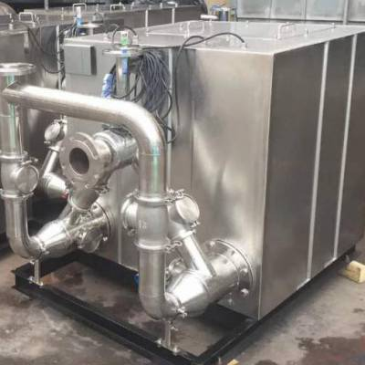 鑫溢 污水提升器 大型超市负压真空污水提升器 优势