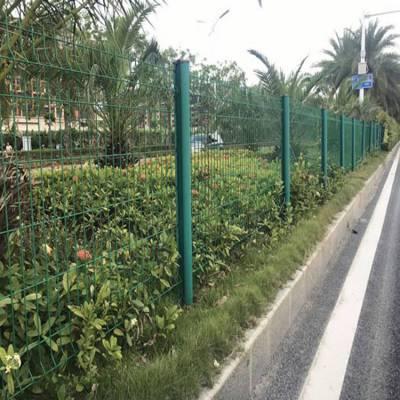 揭阳钢丝围栏 江门绿化带护栏 珠海防护丝网 炎泽包塑铁线