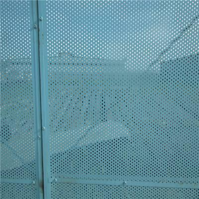 爬架专用防护网 金属爬架网 金属冲孔板