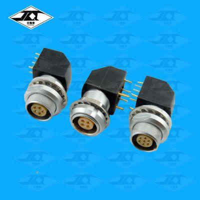 PCB焊接航空插座 推拉自锁连接器生产厂家选型