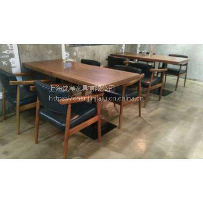 厂家直销上海食堂桌椅,美食城C067桌椅简约现代
