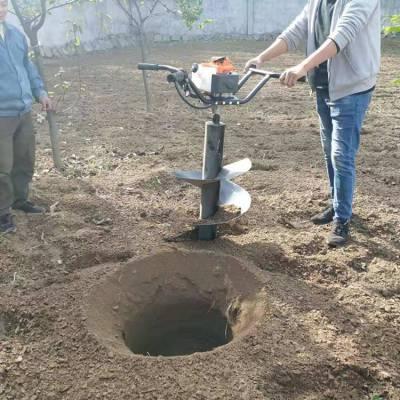 汽油机挖坑机 汽油植树挖坑机 汽油栽树挖坑机