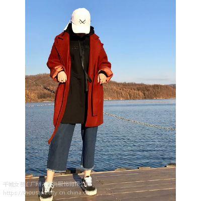 THOUSAND CITY千城女装时尚毛呢外套