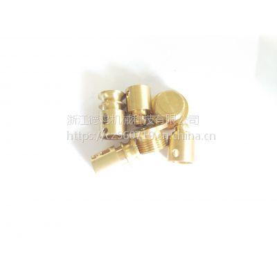 CNC加工中心 黄铜汽配件 铜嵌件