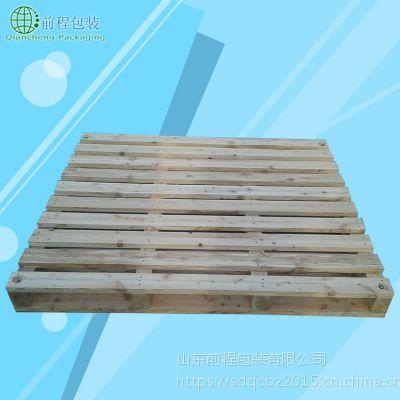 山丹县商贸物流标准托盘 菏泽厂家松木托盘尺寸规格齐全