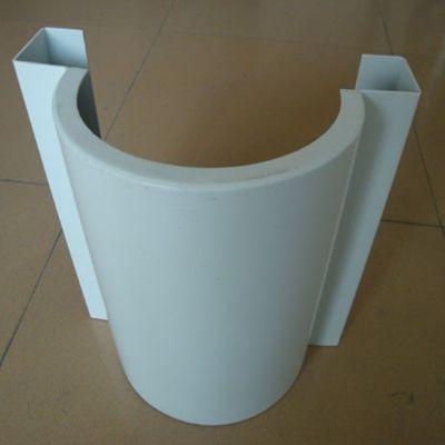 赣州弧型铝单板吊顶厂家,酒店/超市弧形异型氟碳铝单板安装