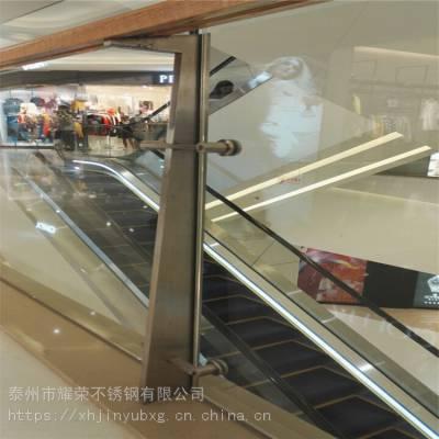 耀荣 供应强力推荐 戴南不锈钢楼梯扶手 不锈钢阳台玻璃护栏