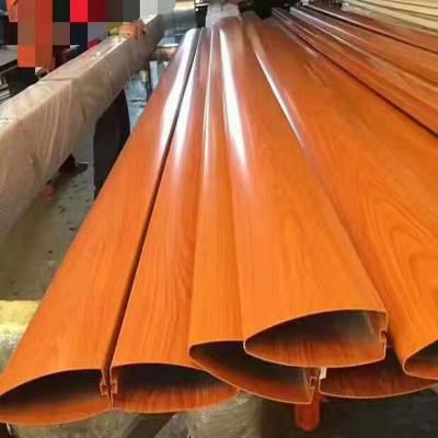 保定木纹铝方通供应 高铁站铝方通 铝型材方通厂家