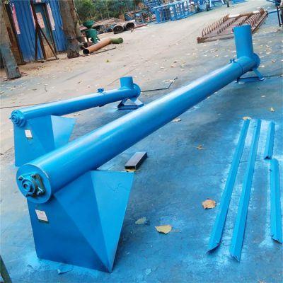 许昌各种型号制作螺旋提升机 兴亚长轴提料机厂家