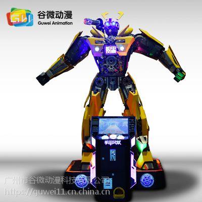 智能娱乐机器人大黄蜂 机甲战士大黄蜂 变形金刚厂家
