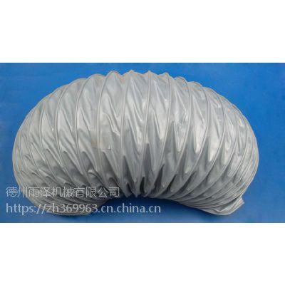 宁津雨泽厂家直销PU透明钢丝缠绕风管,耐磨耐高温聚氨酯风管,PU钢丝伸缩吸尘软管