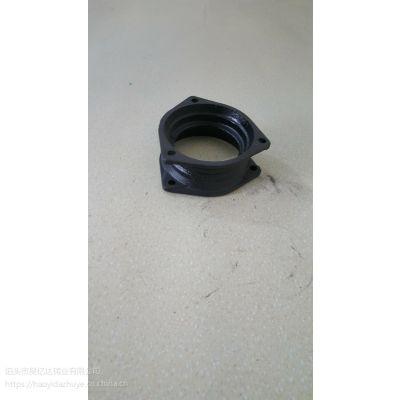 昊亿达 铸铁套袖 柔性铸铁管件 B型管箍 接头 套袖 直接 法兰连接管件