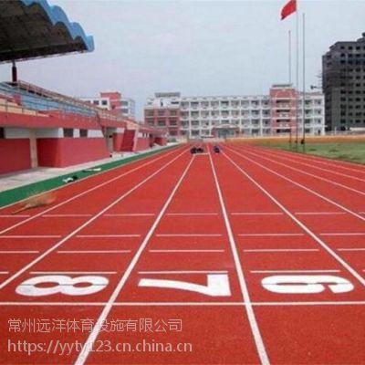 学校体育场塑胶跑道面层环保混合型塑胶跑道专用材料厂家直销