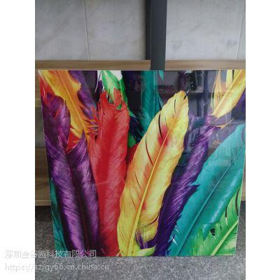竹木纤维木塑护墙板3D图案喷印设备价格