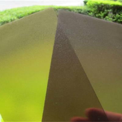 磨砂耐力板价格 pc磨砂板批发 佛山优质磨砂板厂家供应
