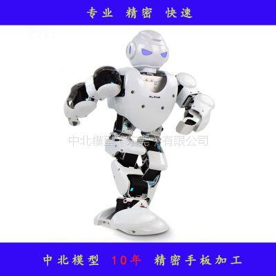 东莞手办厂快速定制机器人模型手板中北精密表面处理