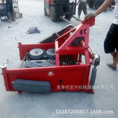 手扶车带动收割机 家用型收获机 多功能红薯刨薯机