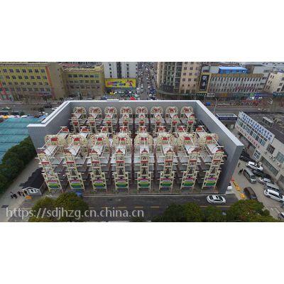 九路泊车移动式充电桩垂直循环式立体停车库——模块式立体停车场
