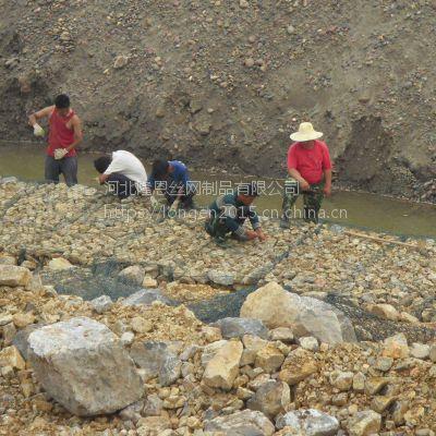 河北镀锌石笼网制造商 水利建设工程镀锌石笼网