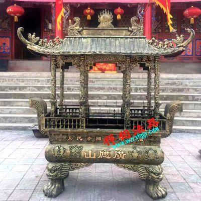 那里有铸造寺庙香炉厂家,定做温州、苍南香炉到禅相法器厂