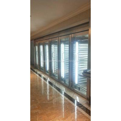 金佰特厨具双面玻璃门保温柜(带推车)