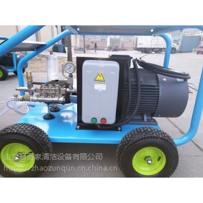 除锈除漆高压水清洗机 工业高压清洗机35Mpa AW35/21北京冠百家清洁设备