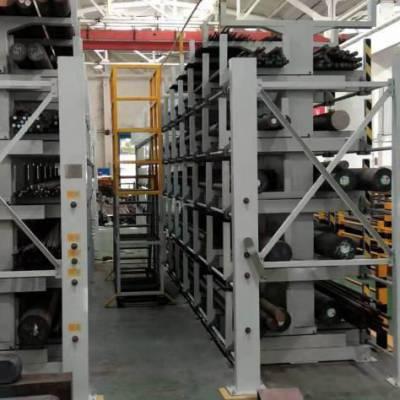 珠海仓储货架定做 伸缩式管材货架 放型材的架子 新型悬臂架