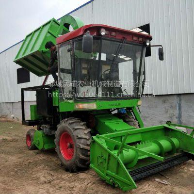农牧养殖机械玉米秸秆青储收割机 大型玉米青储机价格