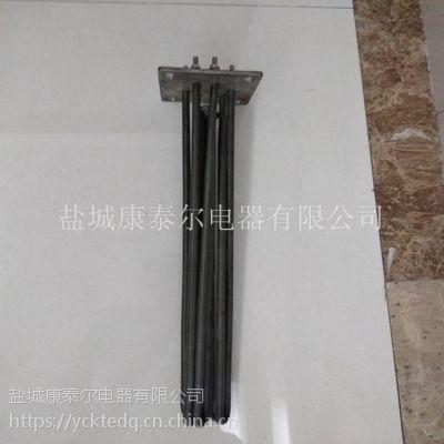 供应法兰集式液体电加热管 防水垢涂层法兰式加热管
