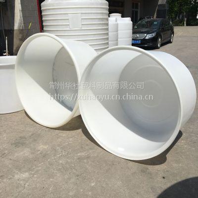 【华社】圆形大敞口洗衣液搅拌桶、大口径大容积塑料圆桶 厂家直销