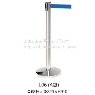 上海世博会一米线供应商五冠制品专供可伸缩2米不锈钢一米线L06A 银行酒店展览 可订制可维修