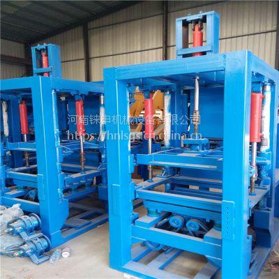 铼申液压震动水泥垫块机 水泥支撑条机器 全自动混凝土垫块设备