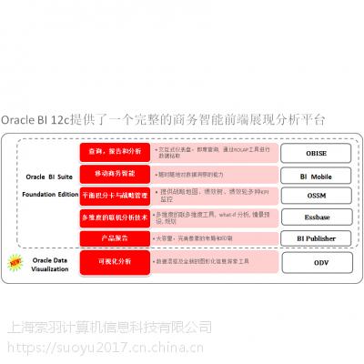 Oracle商务智能BI 12C