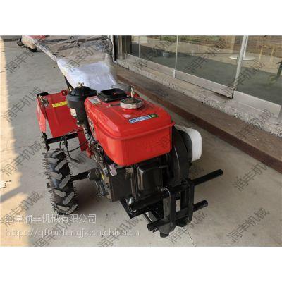 柴油旋耕除草机 茶园树林用小型背负式耕田机 操作轻便