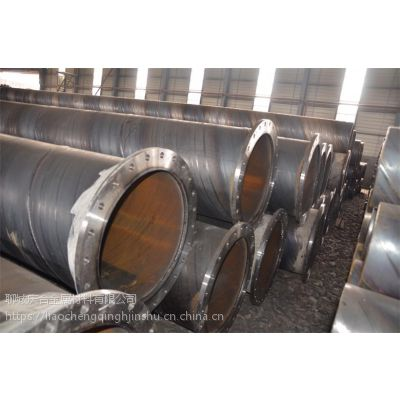 山东东阿Q235B螺旋焊管现货