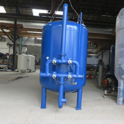 污水后置过滤器 填充多种滤料 解决不达标排放标准 除悬浮物铁锰 晨兴环保