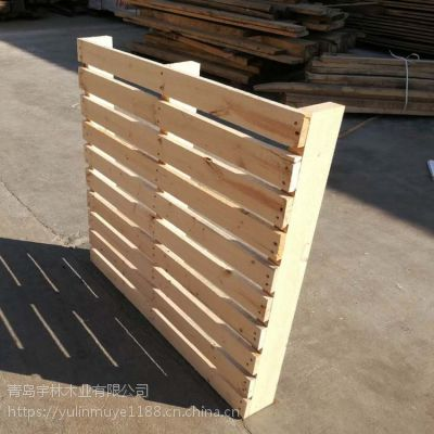 木制托盘仓库夹板载重托盘实木供应商