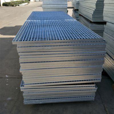 河北厂家镀锌钢格板定制 钢格板踏步 镀锌格栅板沟盖板