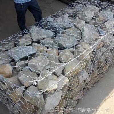 厂家直销镀锌石笼网格宾网 河道护坡专用